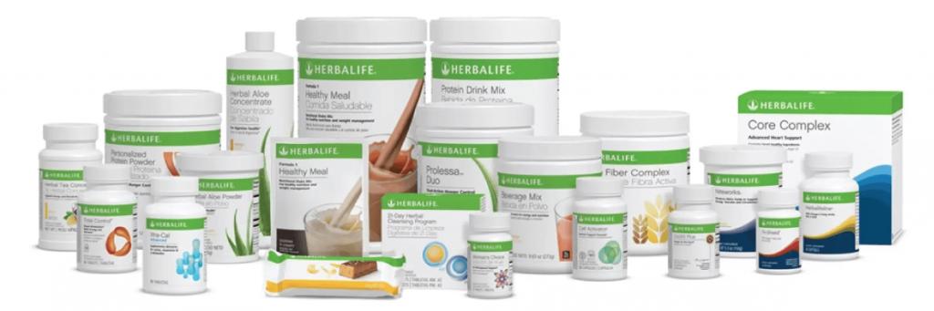 Slider Productos Herbalife